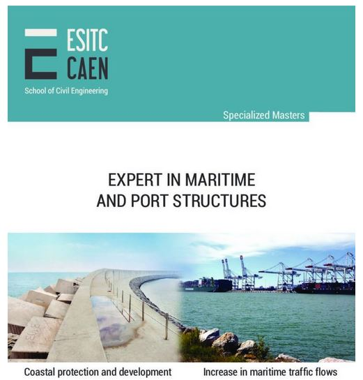 "Mastère ""Expert in maritime and port structures"""